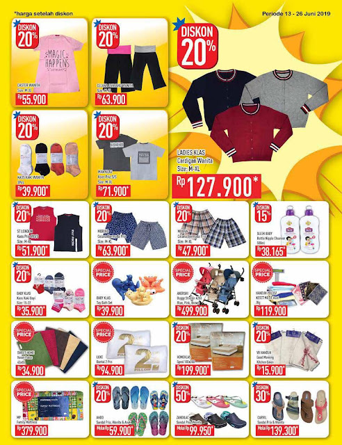 #Hypermart - #Promo #Katalog Low Price and More Periode 13 - 26 Juni 2019