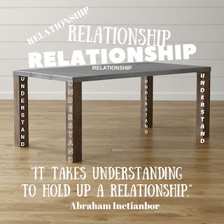 Understanding is the Key to any Relationship