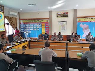 Polres Majalengka Terima Kunjungan Tim Itwasda Polda Jabar Dalam Rangka Wasrik Tahap II Aspek Pelaksanaan dan Pengendalian
