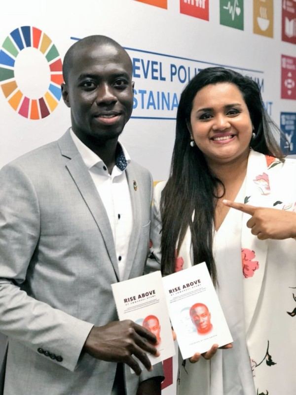 "Ghanaian Advocate & Social Entrepreneur, Emmanuel Nyame Launches new Book ""Rise Above"""
