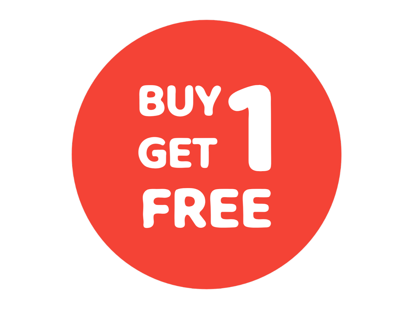 Buy 1 Get 1 Free Format PNG