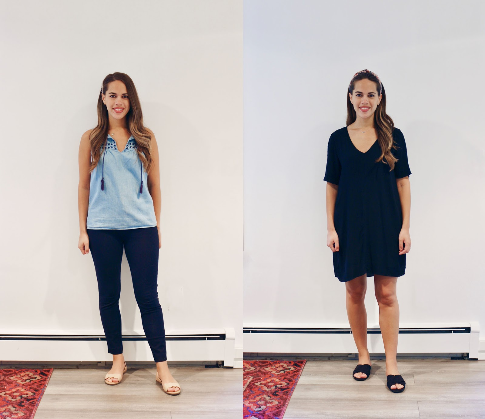Jules in Flats -  August Outfits Week Two (Business Casual Summer Workwear on a Budget)