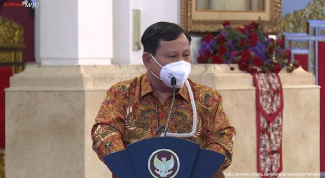 Prabowo Beri Semangat Jokowi: Bapak Jangan Ragu, <i>We Are On The Right Track</i>