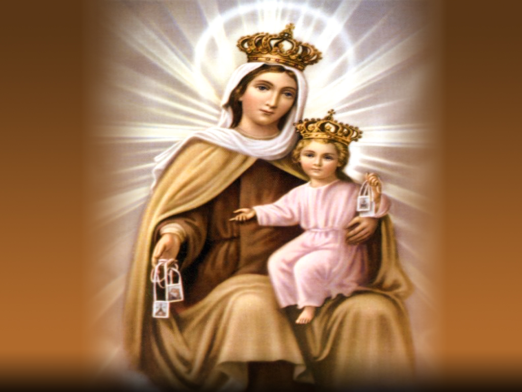 Feast Of Our Lady Of Mount Carmel Quotes: Icons Our Lady Mount Carmel