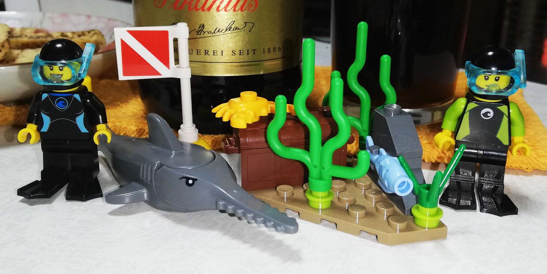 LEGOレビュー:60221 ダイビングヨット:シティ
