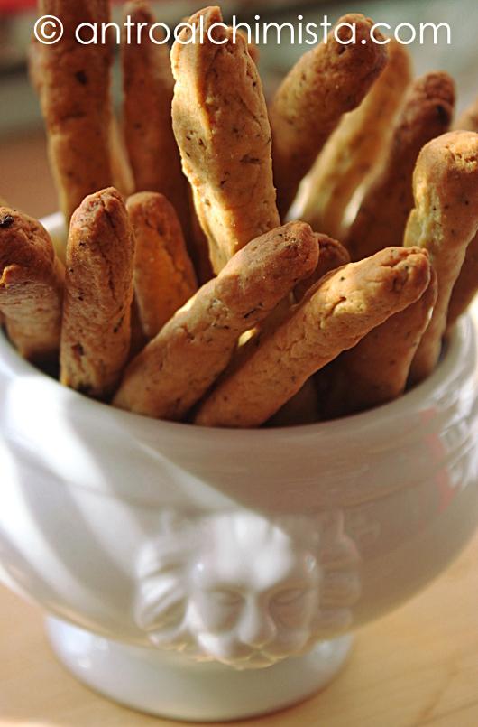 Grissini Veloci al Pesto con Farina di Quinoa