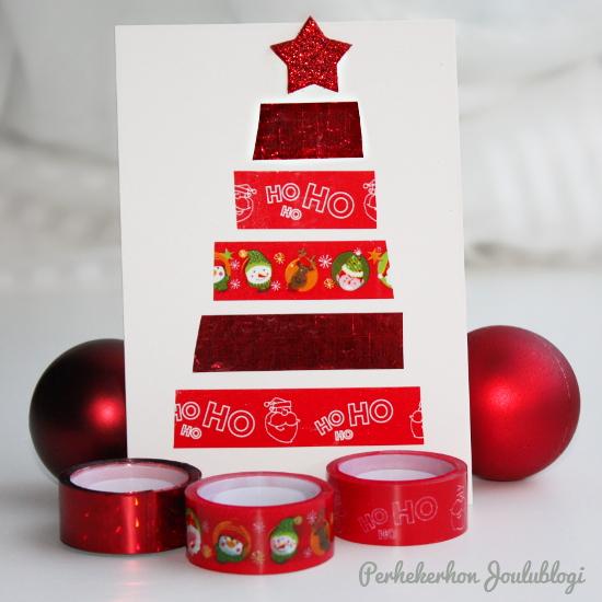 Kuva: Jouluiset koristeteipit - askartele joulukortti