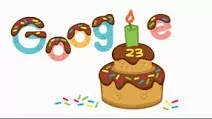 Google Doodle Today: Google celebrates 23rd birthday with animated doodle