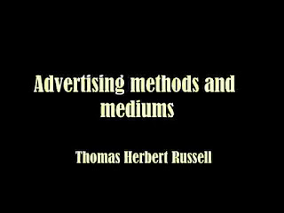Advertising methods and mediums