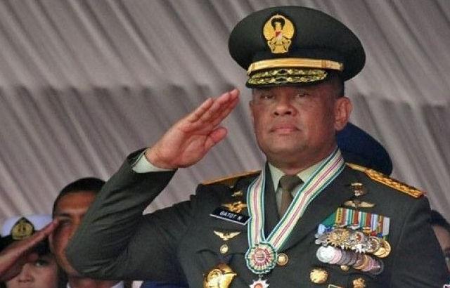 Batal Hadir Terima Bintang Mahaputera, Jendral Gatot Minta Jokowi Lebih Perhatian Terhadap TNI