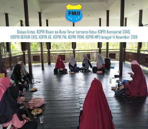 KOPRI Lintas Rayon Se-Kutim Diskusikan Gerakan Perempuan PMII