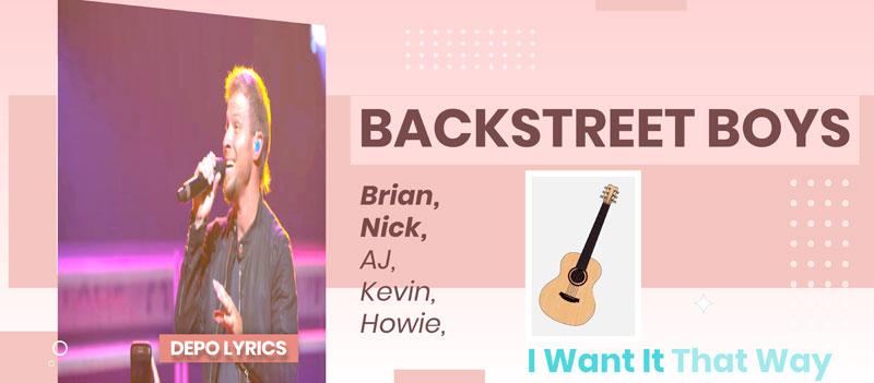 Песня Лирический Перевод Backstreet Boys - I Want It That Way (Russian Translation) Русский перевод