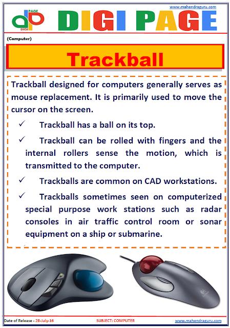 Digi Page - Trackball