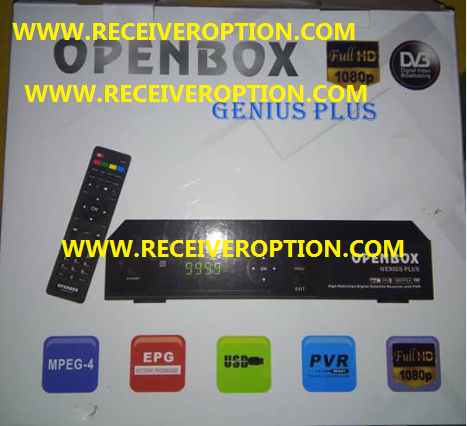 OPENBOX GENIUS PLUS HD RECEIVER AUTO ROLL POWERVU KEY NEW SOFTWARE