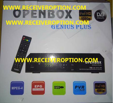 OPENBOX GENIUS PLUS HD RECEIVER AUTO ROLL POWERVU KEY NEW SOFTWARE