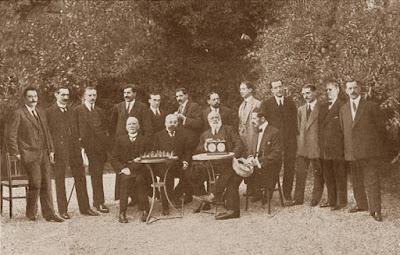 Campeonato de Barcelona de 1913, ajedrecistas participantes