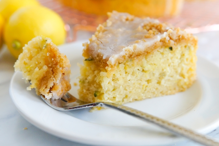 Lemon Zucchini Coffee Cake | bakeat350.net for The Pioneer Woman Food & Friends