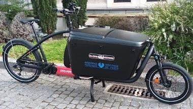 Paris: des vélos cargo desservent l'hôpital