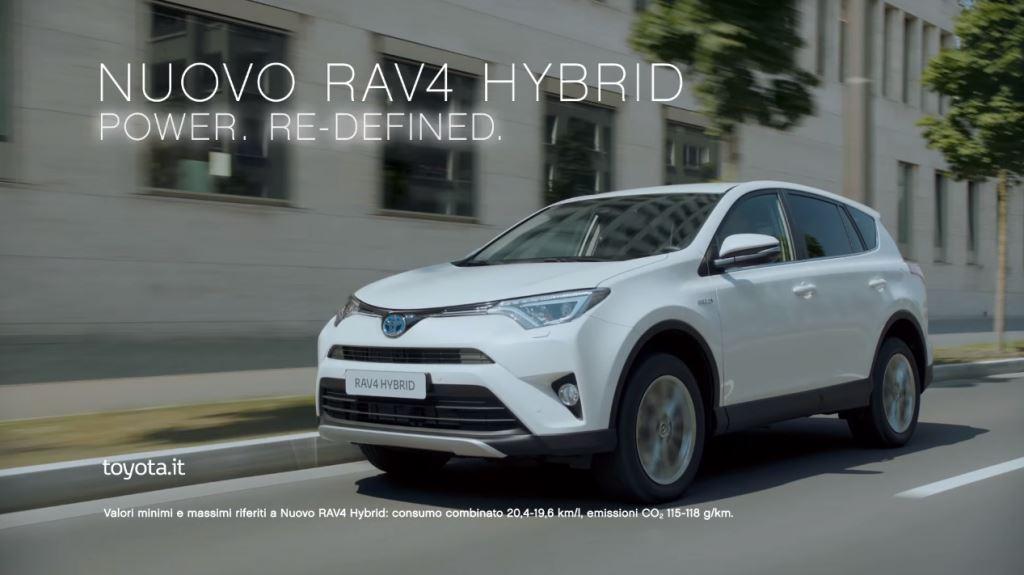 Pubblicità Toyota Nuovo RAV4 Hybrid ''Cambiamenti'' Foto e Testimonial 2016