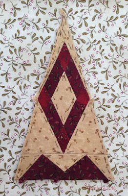 Dear Jane Quilt - Border Block BR12 Jessie's Stained Glass