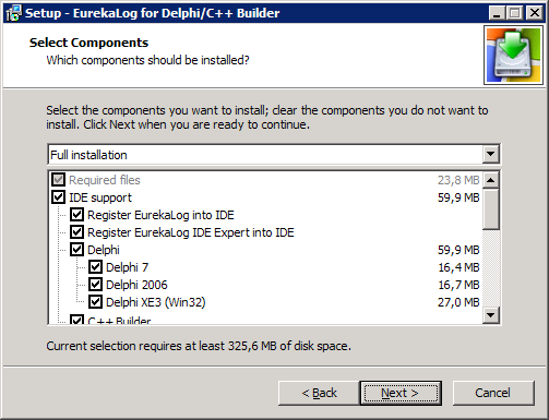 Using EurekaLog with Delphi Personal/Turbo/Starter editions
