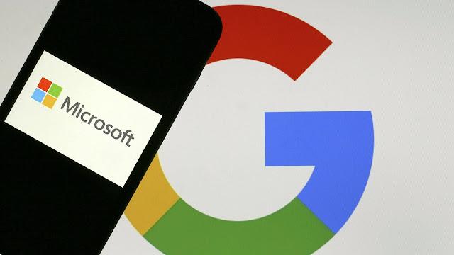 Microsoft and Google Teamed