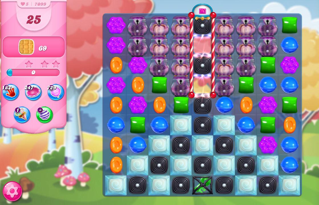 Candy Crush Saga level 7099