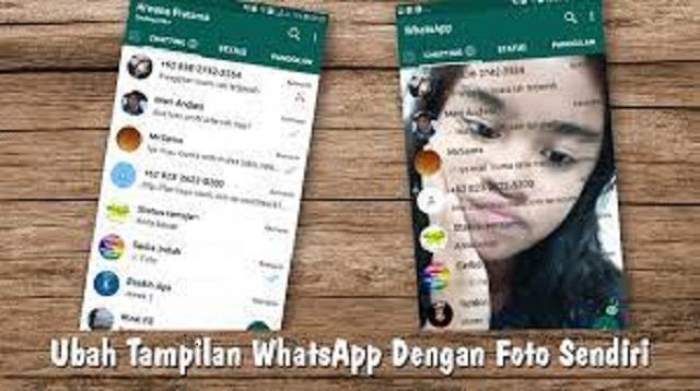 Cara Mengubah Tema WhatsApp Menjadi Pink