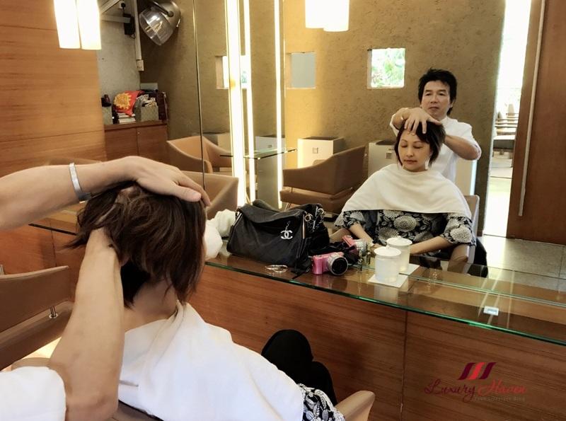 singapore beauty influencer reviews hyatt mosche hair salon