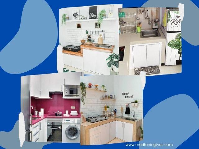ide desain dapur kecil ukuran 2x2 m