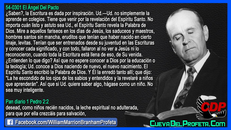 Escondido de los ojos de los sabios y entendidos - William Branham en Español