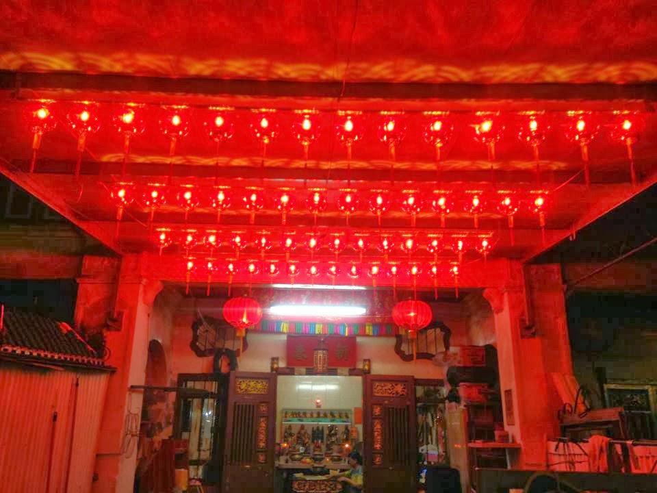 四條路仙祖壇: 2014年度鴻運平安燈