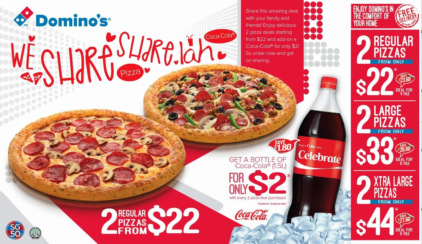 dominos pizza delivery deals - HD1600×924