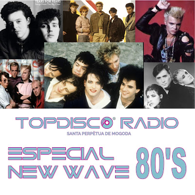 Topdisco Radio Especial New Wave 80's