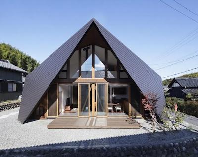 gambar atap rumah minimalis model kerucut