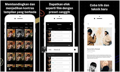 Aplikasi Edit Foto - VSCO