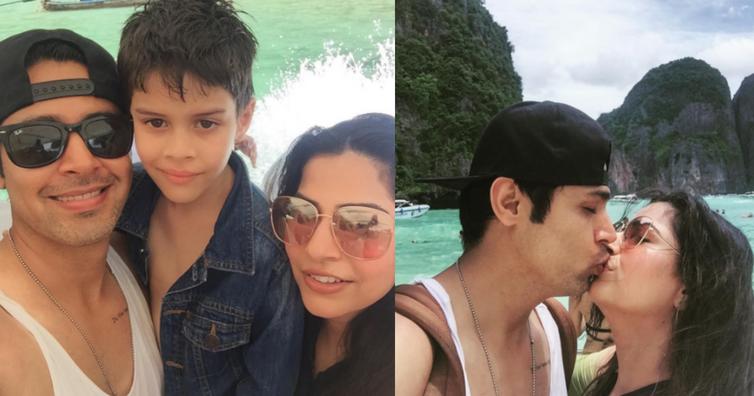 TV actor Sudeep Sahir enjoying vacation with family in Thailand