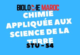Cours Chimie appliquée à la géologie S4 STU PDF