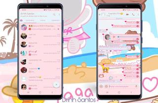 Caupal Teddy Bear Theme For YOWhatsApp & Fouad WhatsApp By Driih Santos
