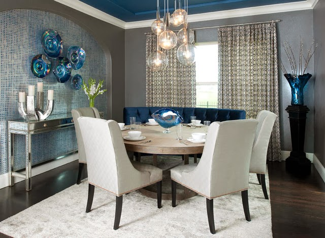 Fotos de comedores elegantes colores en casa for Comedor 2 colores