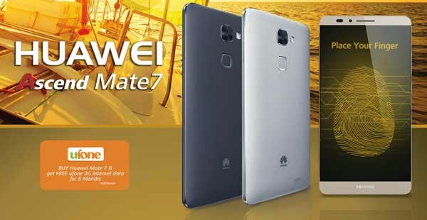 Huawei Ascend Mate 7 Strong Sales in Pakistan