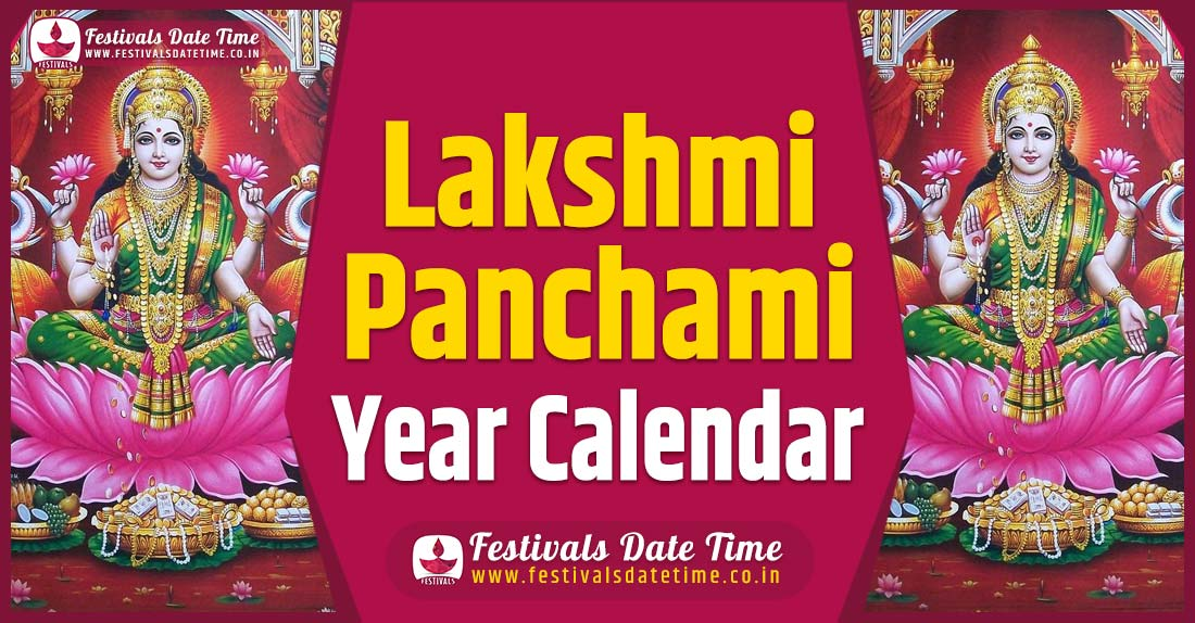 Lakshmi Panchami Year Calendar, Lakshmi Panchami Pooja Schedule