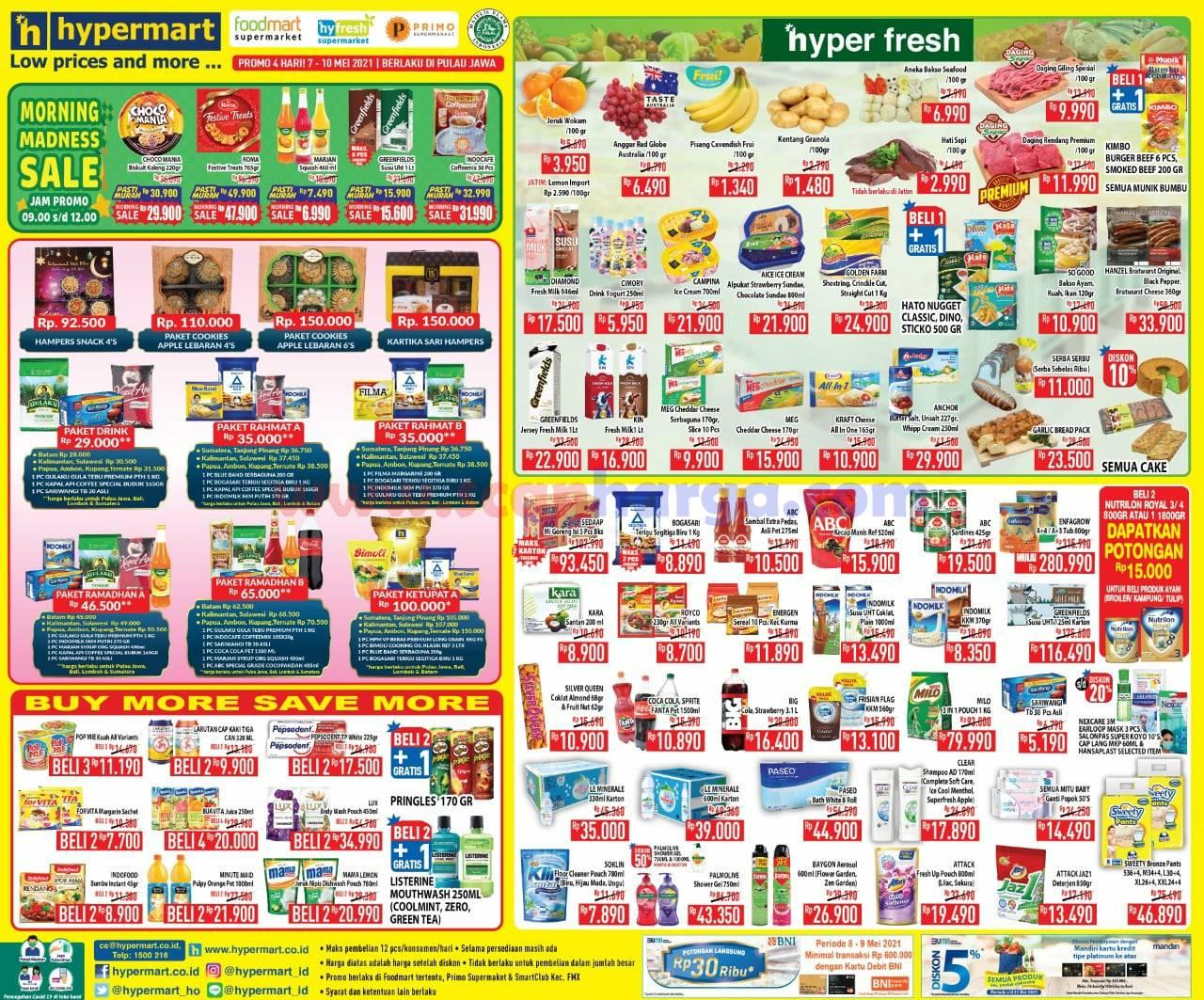 Katalog Promo Hypermart Weekend 7 - 10 Mei 2021 1