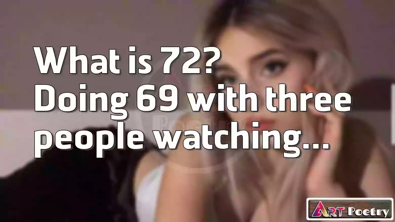 sissy caption | hentai caption | sissy caption story | sissy caption stories | sissy caption reddit | sissy captions | sissy hypno | sissy hypnosis | sissy training, What is 72? Doing 69 with three  people watching.