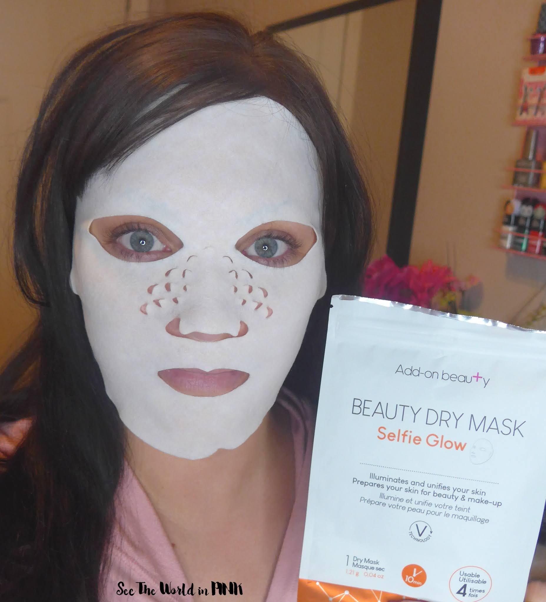 Add-on Beauty - Selfie Glow Dry Mask