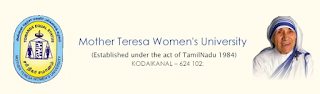 Mother Teresa Women's University Clerical Assistant Old Question Papers