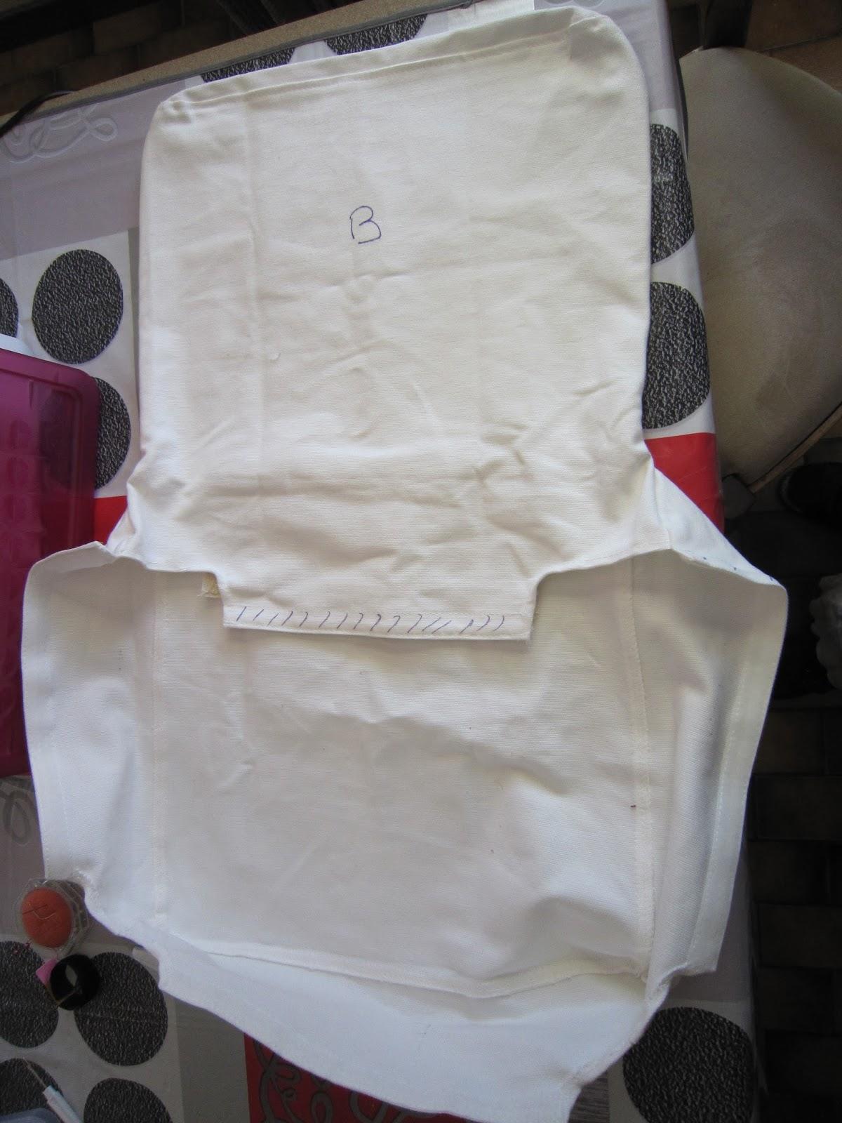 couture pour debutant e s reproduire une housse de chaise de bar avec un tissu diff rent. Black Bedroom Furniture Sets. Home Design Ideas