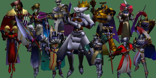 Knights of Round FFVII