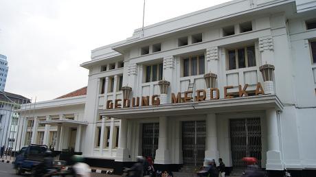 Gedung Merdeka di Bandung, Jawa Barat