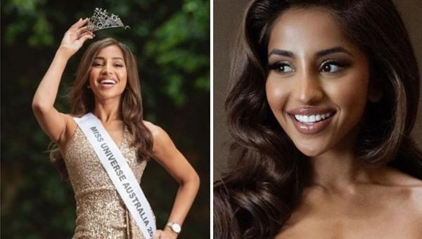 Maria Thattil es Miss Universe Australia 2020